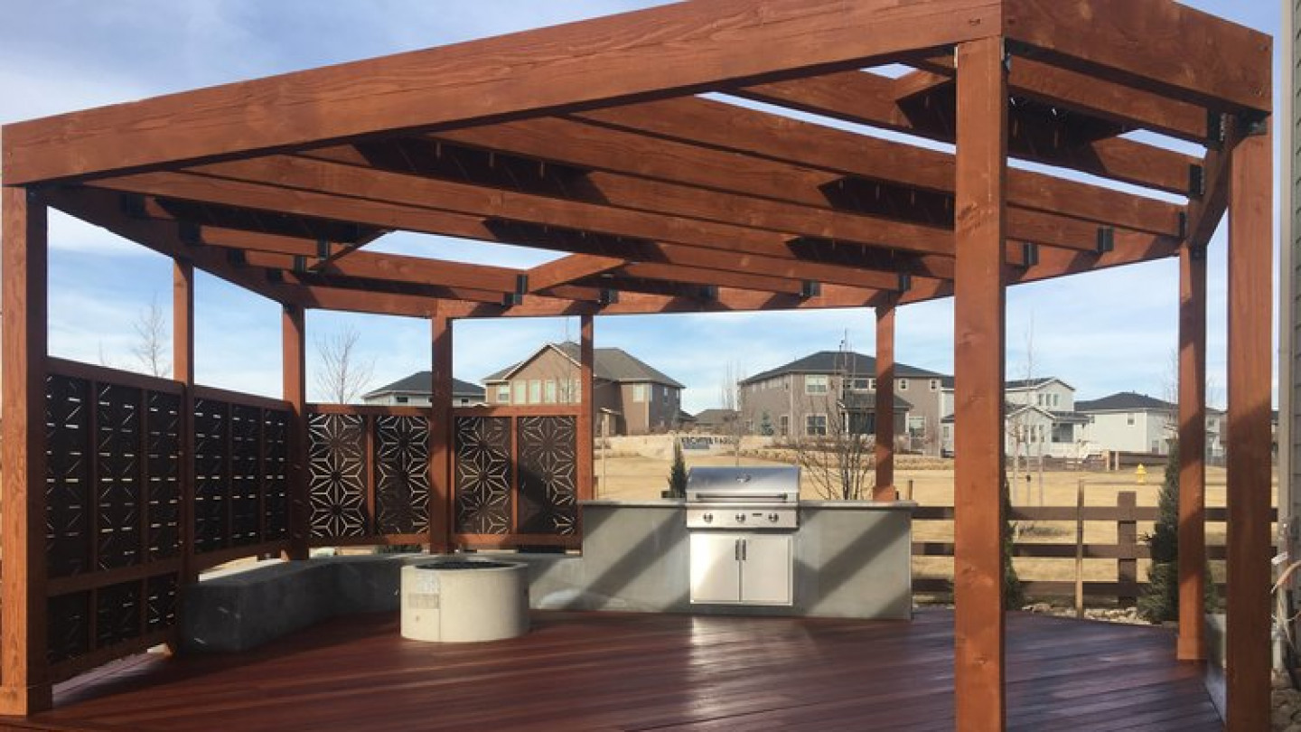 Make a statement with a beautiful pergola